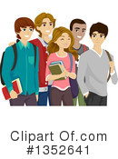 Royalty-Free (RF) Teenager Clipart Illustration #1352641