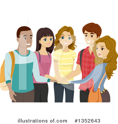 Royalty-Free (RF) Teenager Clipart Illustration by BNP Design Studio - Stock Sample #1352643