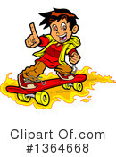 Teenager Clipart #1364668 by Clip Art Mascots