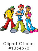 Teenager Clipart #1364673 by Clip Art Mascots