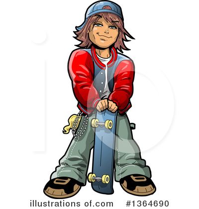 Teenager Clipart #1364690 by Clip Art Mascots