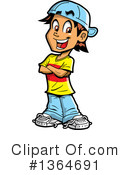 Teenager Clipart #1364691 by Clip Art Mascots