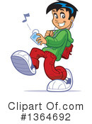 Teenager Clipart #1364692 by Clip Art Mascots