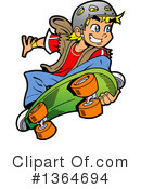 Teenager Clipart #1364694 by Clip Art Mascots