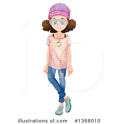 Teenager Clipart #1368010 by Graphics RF