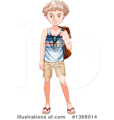Teenager Clipart #1368014 by Graphics RF