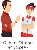 Royalty-Free (RF) Teenager Clipart Illustration #1392447