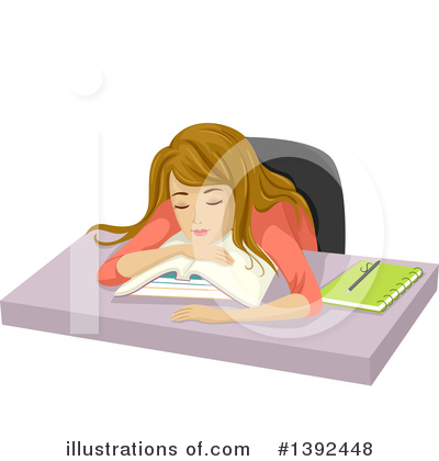 Homework Clipart #1392448 by BNP Design Studio
