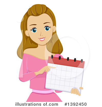 Calendar Clipart #1392450 by BNP Design Studio