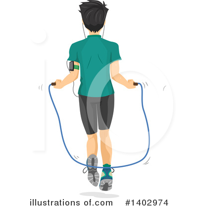 Jumping Rope Clipart #1402974 by BNP Design Studio