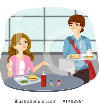 Cafeteria Clipart #1402991 by BNP Design Studio