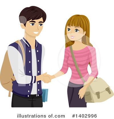 Handshake Clipart #1402996 by BNP Design Studio