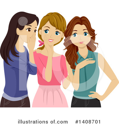 Gossip Clipart #1408701 by BNP Design Studio