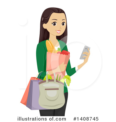 Smart Phone Clipart #1408745 by BNP Design Studio