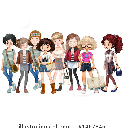 Teenager Clipart #1467845 by Graphics RF