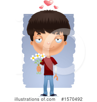 Royalty-Free (RF) Teenager Clipart Illustration by Cory Thoman - Stock Sample #1570492