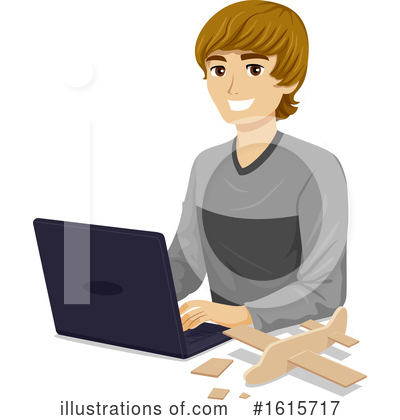 Royalty-Free (RF) Teenager Clipart Illustration by BNP Design Studio - Stock Sample #1615717