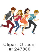 Teenagers Clipart #1247880 by BNP Design Studio
