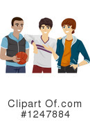 Teenagers Clipart #1247884 by BNP Design Studio