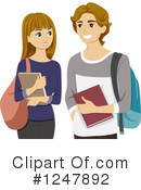 Teenagers Clipart #1247892 by BNP Design Studio