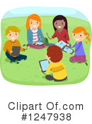 Teenagers Clipart #1247938 by BNP Design Studio
