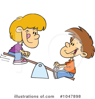 Siblings Clipart #1047898 by toonaday