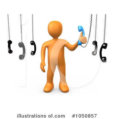 Contact Clipart #1050857 by 3poD