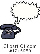 Telephone Clipart #1216259 by lineartestpilot