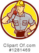 Telephone Repair Clipart #1281469 by patrimonio