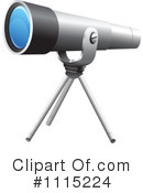 Telescope Clipart #1115224 by Graphics RF