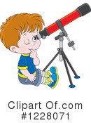 Telescope Clipart #1228071 by Alex Bannykh
