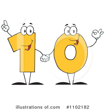 Number Clipart #1102182 by Hit Toon