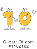 Ten Clipart #1102182 by Hit Toon