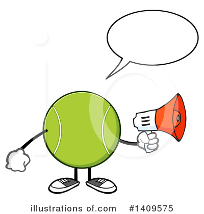 Megaphone Clipart #1409575 by Hit Toon