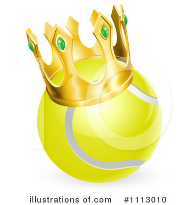 Royalty free rf tennis ball clipart illustration 1113010 by geo
