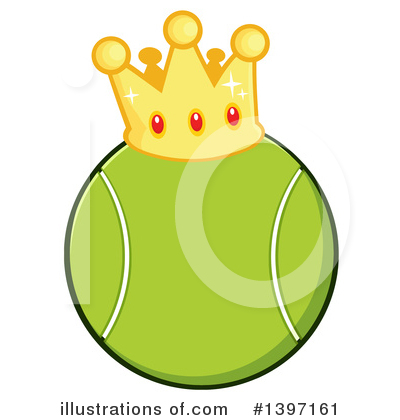 Tennis Ball Clipart #1397161 by Hit Toon