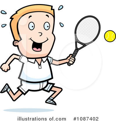 Tennis Clipart #1087402 by Cory Thoman