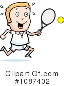 Royalty-Free (RF) Tennis Clipart Illustration #1087402