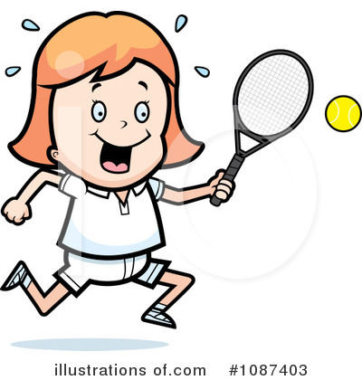 Tennis Clipart #1087403 by Cory Thoman