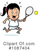 Royalty-Free (RF) Tennis Clipart Illustration #1087404