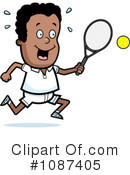 Tennis Clipart #1087405 by Cory Thoman