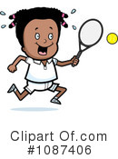 Royalty-Free (RF) Tennis Clipart Illustration #1087406