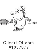 Royalty-Free (RF) Tennis Clipart Illustration #1097377