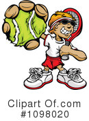 Royalty-Free (RF) Tennis Clipart Illustration #1098020