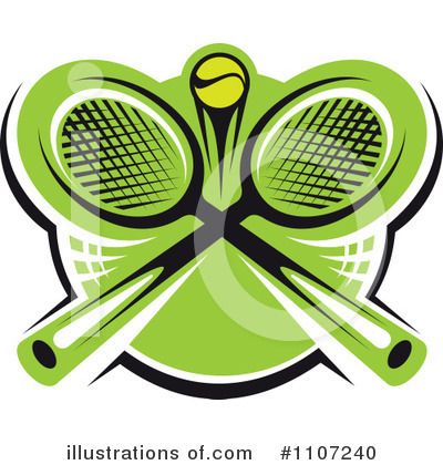 Tennis Clipart #1107240 by Vector Tradition SM