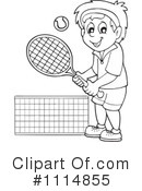 Tennis Clipart #1114855 by visekart