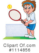 Royalty-Free (RF) Tennis Clipart Illustration #1114856