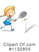 Royalty-Free (RF) Tennis Clipart Illustration #1132809