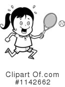 Royalty-Free (RF) Tennis Clipart Illustration #1142662