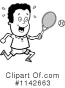 Royalty-Free (RF) Tennis Clipart Illustration #1142663